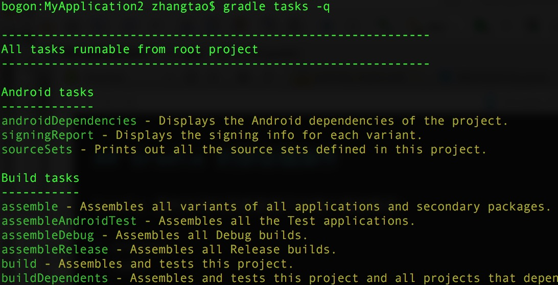 gradle, android, kotlin, tasks